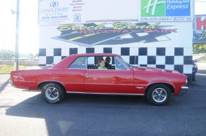 James Becker and his 1964 Pontiac GTO